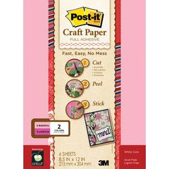 Post-It Full Adhesive Craft Paper Pink