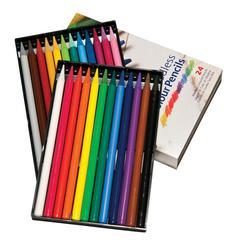 Koh-I-Noor Woodless Pencil 24-Color Set