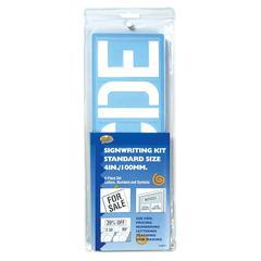 "Helix Sign Writing Kit Standard 4"" 8-Piece Kit"