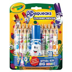 Crayola Pip-Squeaks Colored Pencil 18-Color Set