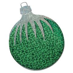 Non-Adhesive Embellishments Green Ornament