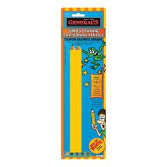 General's Jumbo Drawing Cartooning Pencil Set
