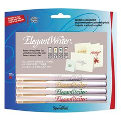 Speedball Elegant Writer Calligraphy 4-Color Marker Set