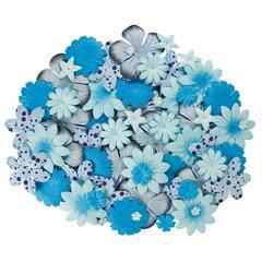 Blue Hills Studio Irene's Garden Jar O'Blooms Blues