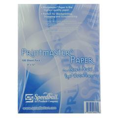 "Speedball Printmaster 9"" x 12"" Paper"