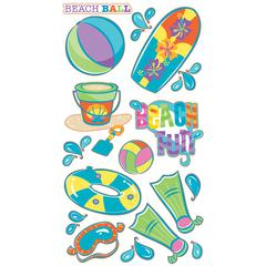 Sticko Classic Sticker Vellum/Glitter Beach Fun