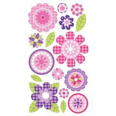 Sticko Classic Sticker Glitter Pink Buttercups