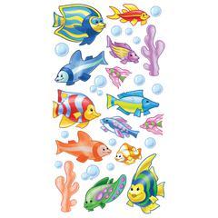 Classic Sticker Foil Funny Fish
