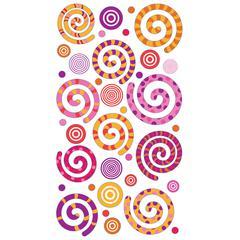 Sticko Sparklers Stickers Warm Swirly Gigs