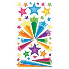 Stickers Retro Stars