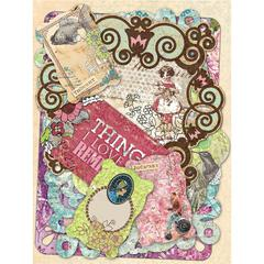 K & Company Jubilee Glitter & Cardstock Die-Cut Tags/Notes