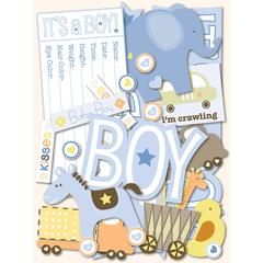 "Baby Girl Adhesive 12"" Borders"