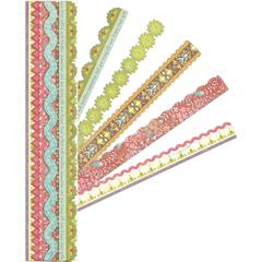 "Glitter & Carstock Adhesive 12"" Borders"