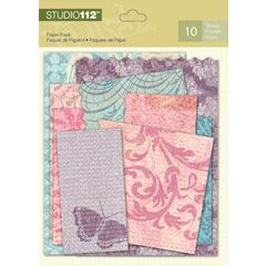 Studio 112 7 1/2 x 6 Paper Pack Damask