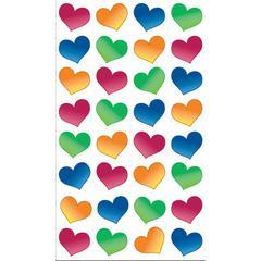 Sticko Sparklers Stickers Bubble Hearts