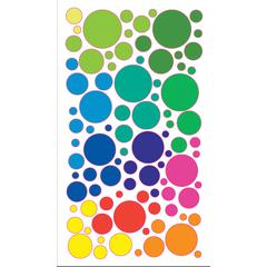 Sticko Sparklers Stickers Colorful Circles
