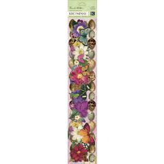 "K & Company Flora & Fauna Cardstock Adhesive 12"" Borders"
