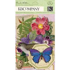 K & Company Flora & Fauna Vellum & Cardstock Die-Cuts