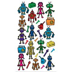 Sticko Classic Stickers Color Robots