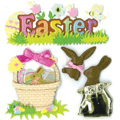 Jolee's Boutique Sticker Chocolate Bunny