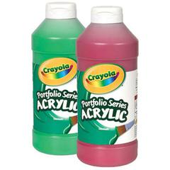 Crayola Portfolio Series Acrylic Paint Light Green