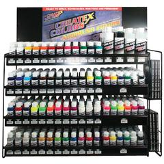 Airbrush Paint Display