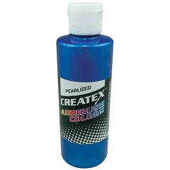 Createx Airbrush Paint 4oz Pearlescent Blue