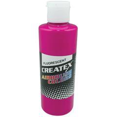 Createx Airbrush Paint 4oz Fluorescent Raspberry