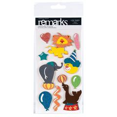 Dimensional Stickers Lion Tamer