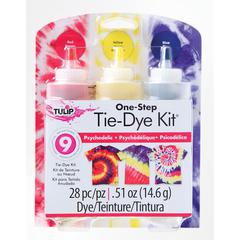 Psychedelic Tie-Dye Kit for 8 Shirts