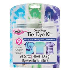 Tulip One-Step Dye Moody Blues Tie-Dye Kit for 8 Shirts