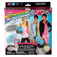 Wild Thing Tie-Dye Fashion Kit for 8-10 Projects