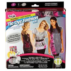 Revamped Tie-Dye Fashion Kit for 8-10 Projects