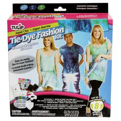 Tulip One-Step Dye Aqua Chic Tie-Dye Fashion Kit for 8-10 Projects
