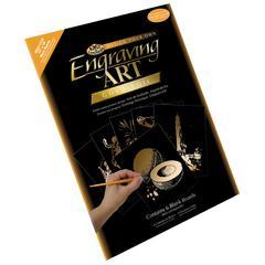 Royal & Langnickel 11 x 14 Engraving Art Blank Board Gold Foil