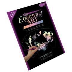 Royal & Langnickel 11 x 14 Engraving Art Blank Board Holographic Foil