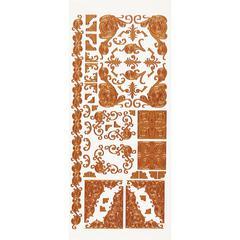 Dazzles Stickers Copper Corners
