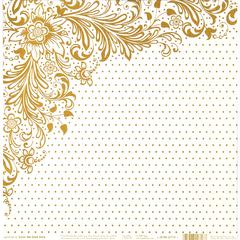 Hot Off the Press Color Me 12 x 12 Paper Gold Dots