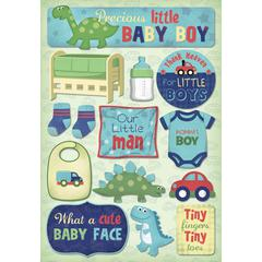 Karen Foster Design Cardstock Stickers Momma's Boy