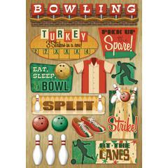 Karen Foster Design Cardstock Stickers At The Lanes