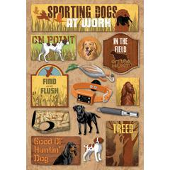 Karen Foster Design Cardstock Stickers Sport Dog