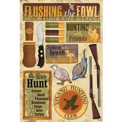 Karen Foster Design Cardstock Stickers Upland Hunt