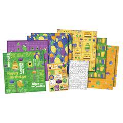 12 x 12 Scrapbook Kit Party Animal