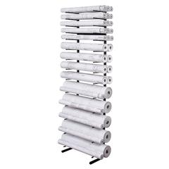 Open Wall Racks for High Capacity Rolled Blueprint Storage 14 Bins