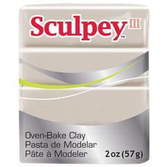Sculpey III Polymer Clay Elephant Gray