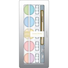 Creamy 10-Color Chalk Set Pastel Metallic Shades