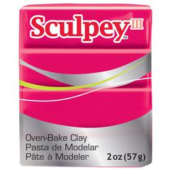 Sculpey III Polymer Clay Red