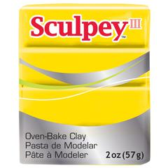 Sculpey III Polymer Clay Yellow