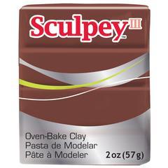 Sculpey III Polymer Clay Chocolate