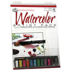 Royal & Langnickel Essentials Watercolor Paint Artist Pack